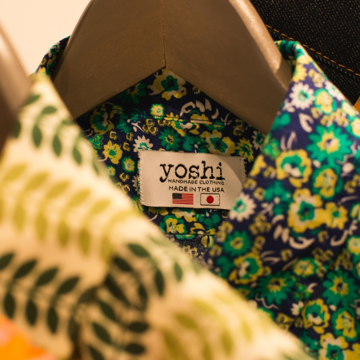 Yoshi Clothing shirt label detail